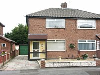 Exterior of Modern Semi-Detached House for long term let or rental  in Cheadle Hulme Cheshire