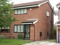 Exterior view of 2 bed semi detached house in Audenshaw/Droyslden area available for long term rental