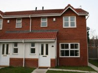 Exterior of Modern Semi detached house in Peel Green Eccles for let