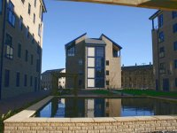Exterior of modern 1 bedroom apartment available to let in Lindley, Huddersfield