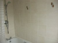 Modern Bathroom with Shower property available for long term rental in Cheadle Hulme