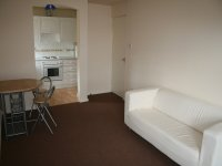 Lounge and dining area in rented accommodation in Denton